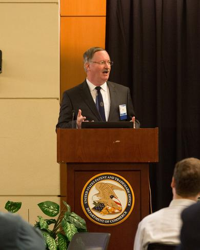 David Henry Speaking at the United States Patent & Trademark Office